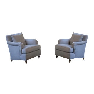 Modern Custom O. Henry House Chairs- A Pair For Sale