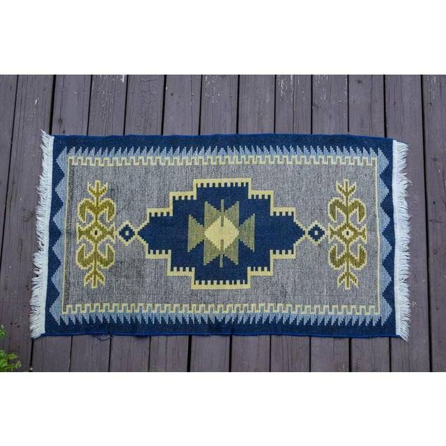Handmade Vintage Kilim Rug - 4′4″ × 2′6″ For Sale - Image 13 of 13