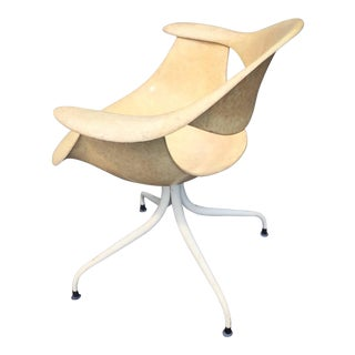 George Nelson Daf Fiberglass Armchair for Herman Miller For Sale