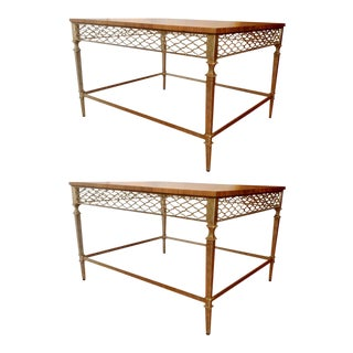 Mid-Century End Tables - a Pair For Sale