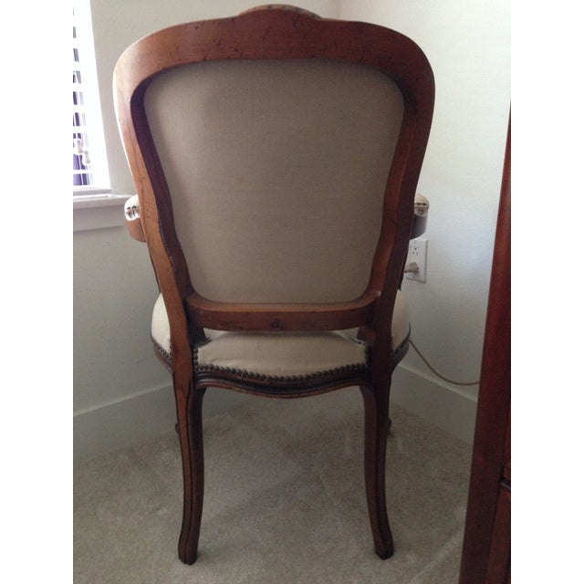 Vintage Chateaux d'Ax Italian Armchairs - Pair For Sale - Image 4 of 7