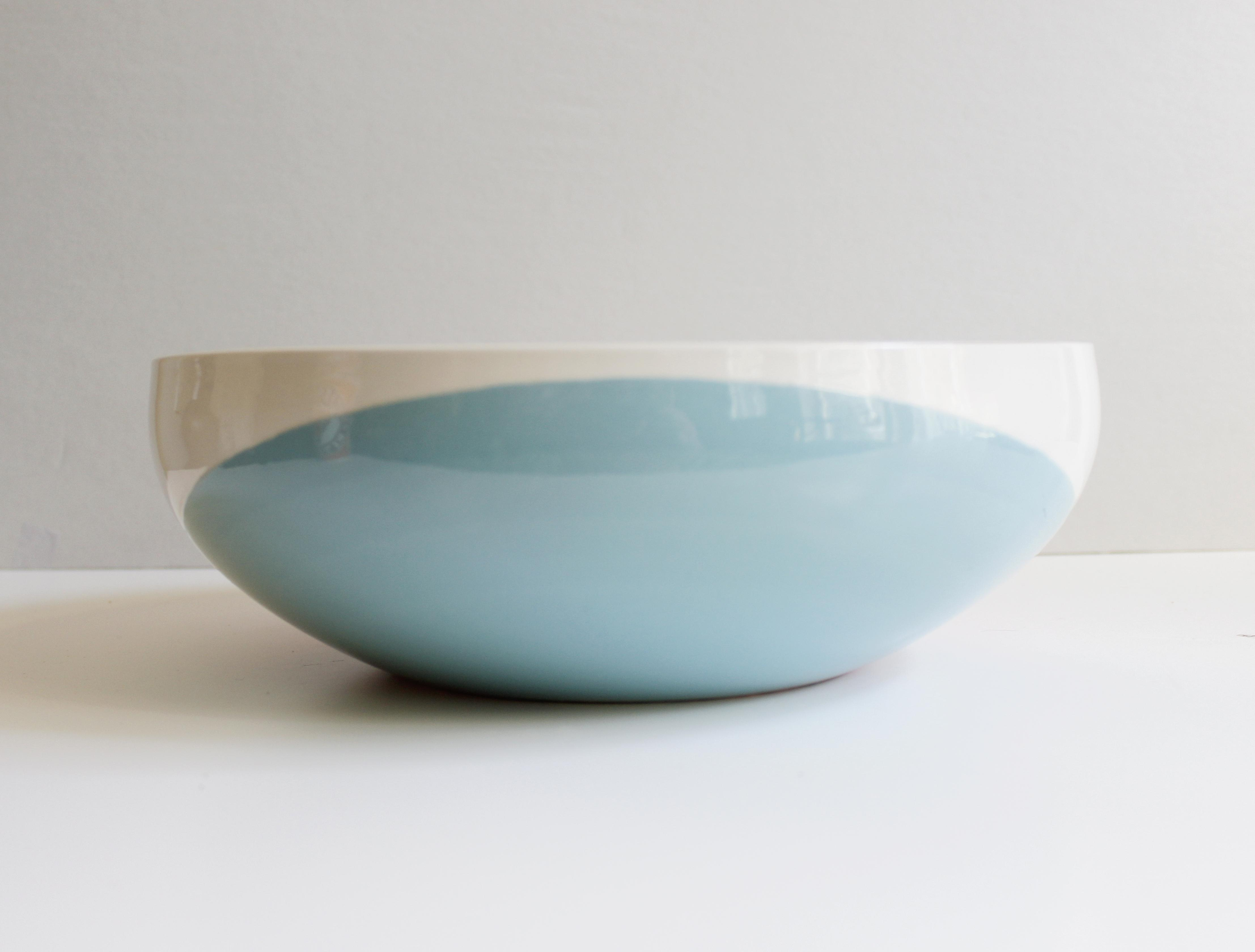 Eva Zeisel For Hall China Tritone Ceramic Serving Bowl   Image 4 Of 5