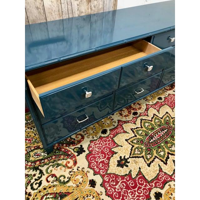 Blue Dresser | High Gloss Blue Dresser - Image 8 of 9