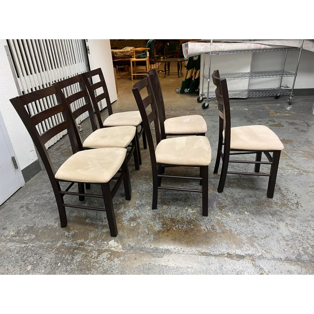 Calligaris Extendable Dining Table + Six Chairs Set For Sale - Image 11 of 13
