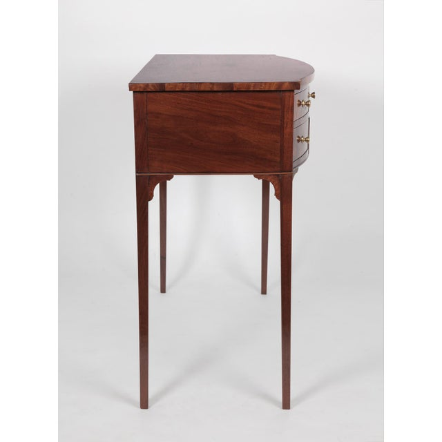 Early 19th Century Antique English Regency Dressing Table For Sale - Image 5 of 9