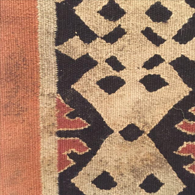 Neutral Tone Kilim Rug - 5′5″ × 8′ - Image 4 of 7