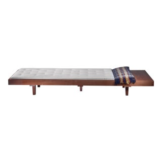 Mid Century Daybed With Head Table For Sale
