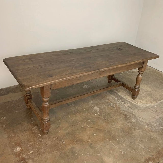 Late 19th Century Farm Table, 19th Century Country French Oak For Sale - Image 5 of 12