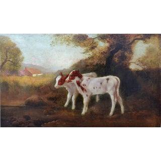 'Twin Calves Looking to Mt. Tamalpais' Painting