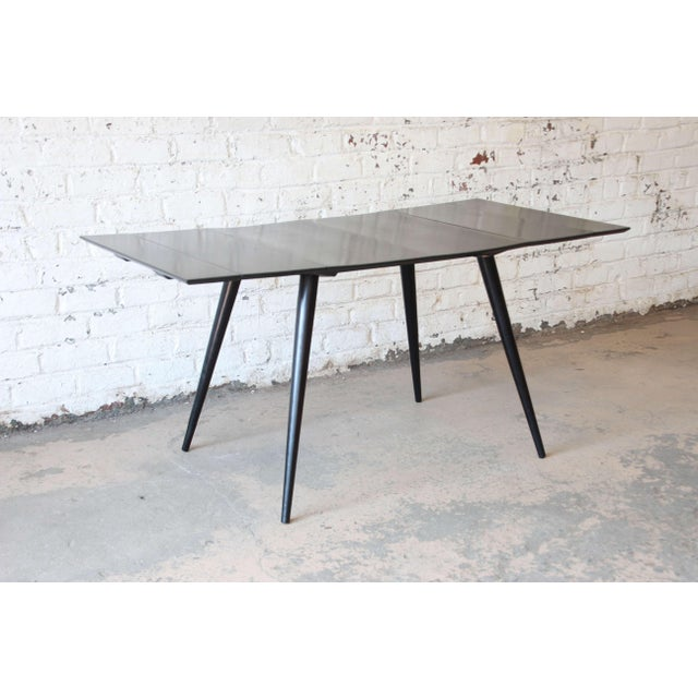 Paul McCobb Planner Group Ebonized Dinette Table For Sale - Image 10 of 10