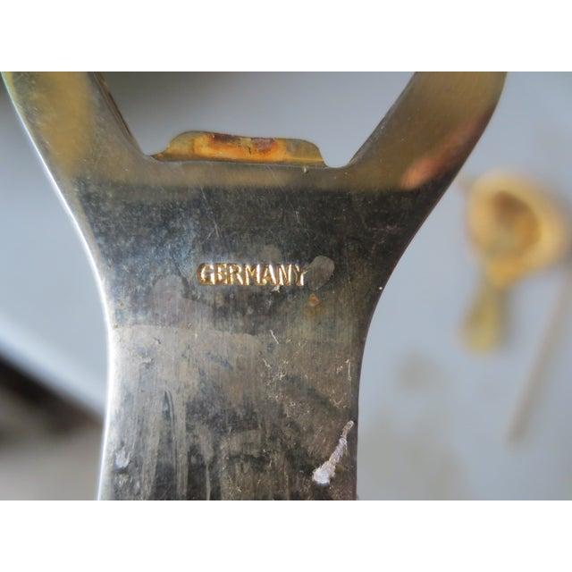 3-Piece 1970s German Brass Bar Set - Image 3 of 6