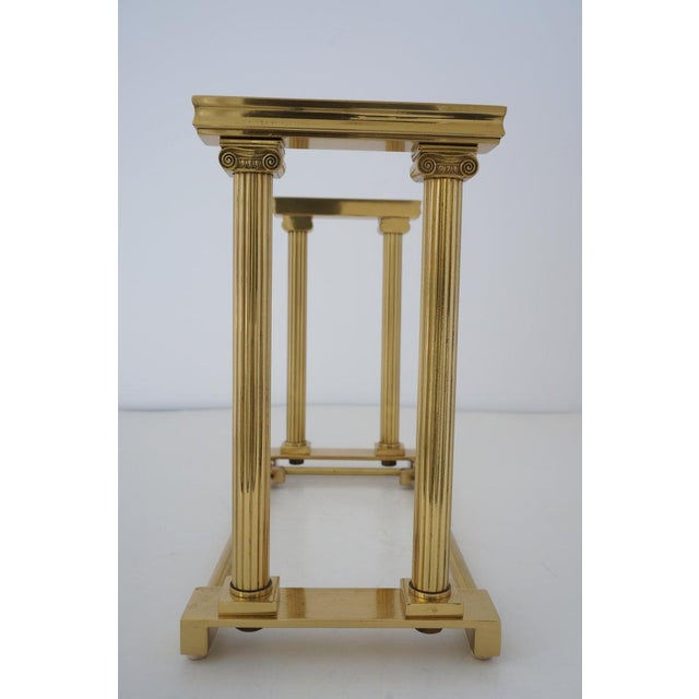 1950s Mid-Century Adjustable Bookend Polished Brass Neoclassic Revival From Italy Book End For Sale - Image 5 of 12