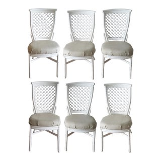 Rattan Dining Chairs - Set of 6
