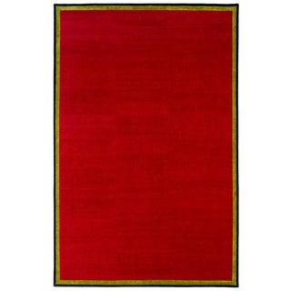 "Joe D'Urso for Joseph Carin Tibetan Wool Rug-9'2'x14'1"" For Sale"