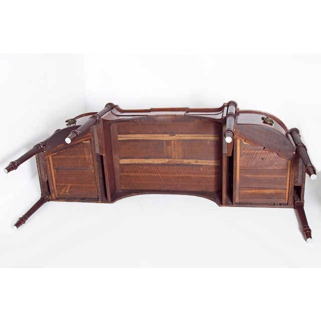 Late 18th Century Mahogany George III Sideboard With Cellerette For Sale - Image 10 of 13