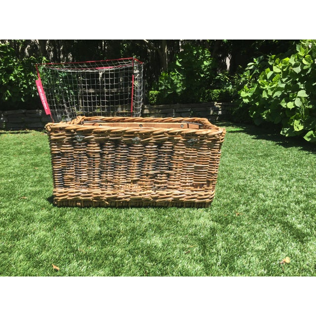 Antique French Champagne Grape Basket For Sale In San Francisco - Image 6 of 6