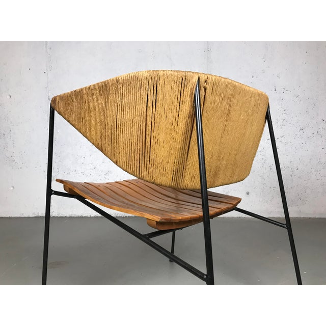 Brown Exceptional 1950's Mid Century Modern Lounge Chair by Arthur Umanoff for Shaver Howard & Raymor For Sale - Image 8 of 13