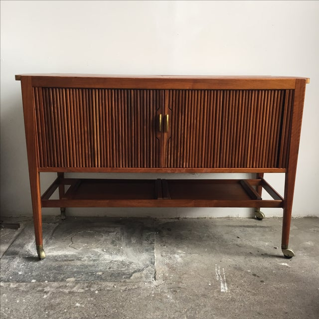 Mid-Century Drexel Bar Cart by Kipp Stewart - Image 3 of 7