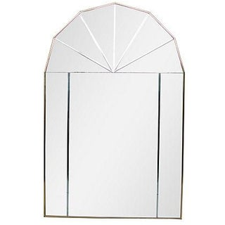 Beveled Arched Mirror For Sale