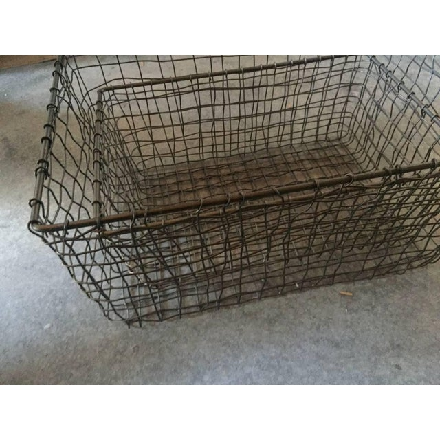 French Wire Vintage Style Market Baskets- Set of 3 - Image 5 of 11