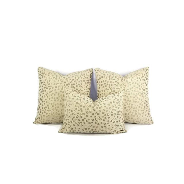 """Lee Industries Lee Industries Nickels in the Color Taupe Lumbar Pillow Cover - 13.5"""" X 20"""" For Sale - Image 4 of 5"""