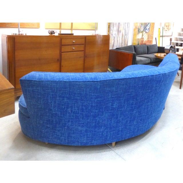 Mid-Century Modern Serpentine Sofa, circa 1950 - Image 3 of 11