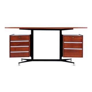 Gio Ponti Studio PFR Mid-Century Modern Desk For Sale