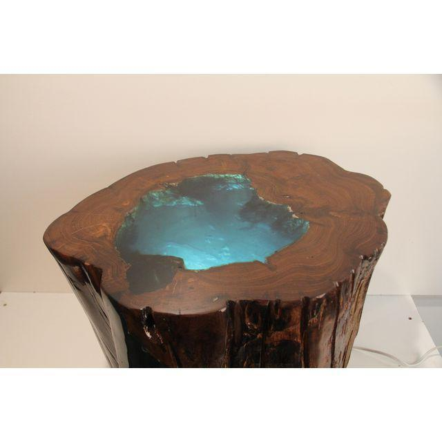 Verdant Cove Side Table For Sale - Image 4 of 4