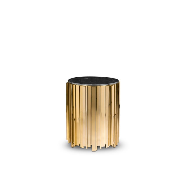 Black Empire Small Side Table From Covet Paris For Sale - Image 8 of 8