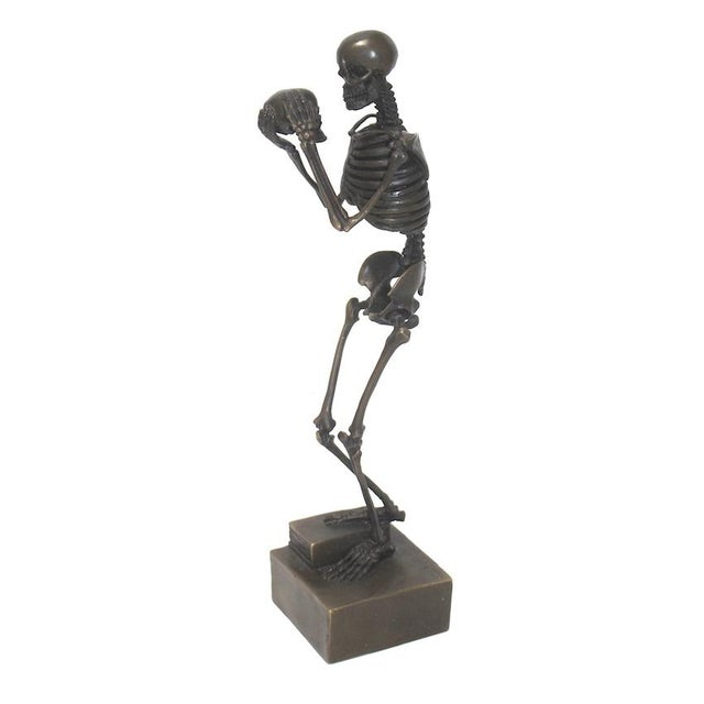 Vintage Carl Kauba Style Bronze Figure For Sale - Image 13 of 13