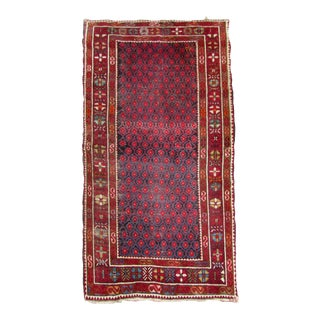 1910s, Handmade Antique Afghan Baluch Rug 3.1' X 5.9' For Sale