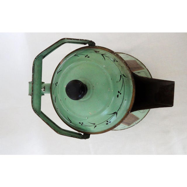 Late 19th Century 19th Century Toleware Water Kettle For Sale - Image 5 of 9