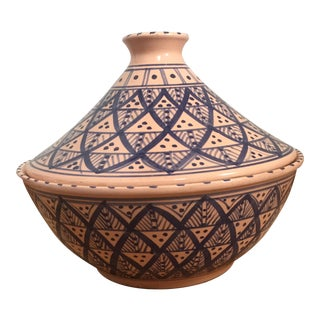 Hand Painted Tunisian Tagine Dish