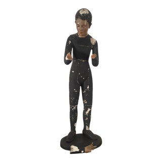 Saint Jorge 19th Century Santo Figure For Sale