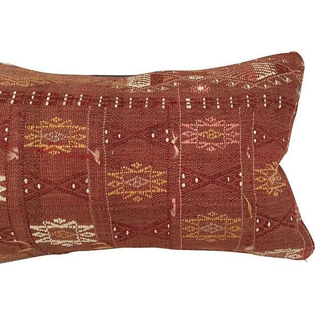 Handmade Brown Turkish Cici Pillow - Image 3 of 5