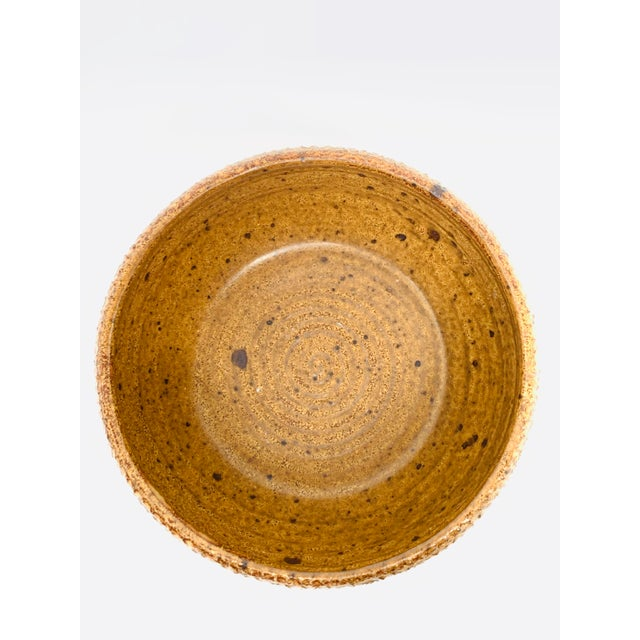 George Scatchard Mid Century Modern Studio Pottery Bowl For Sale - Image 9 of 10