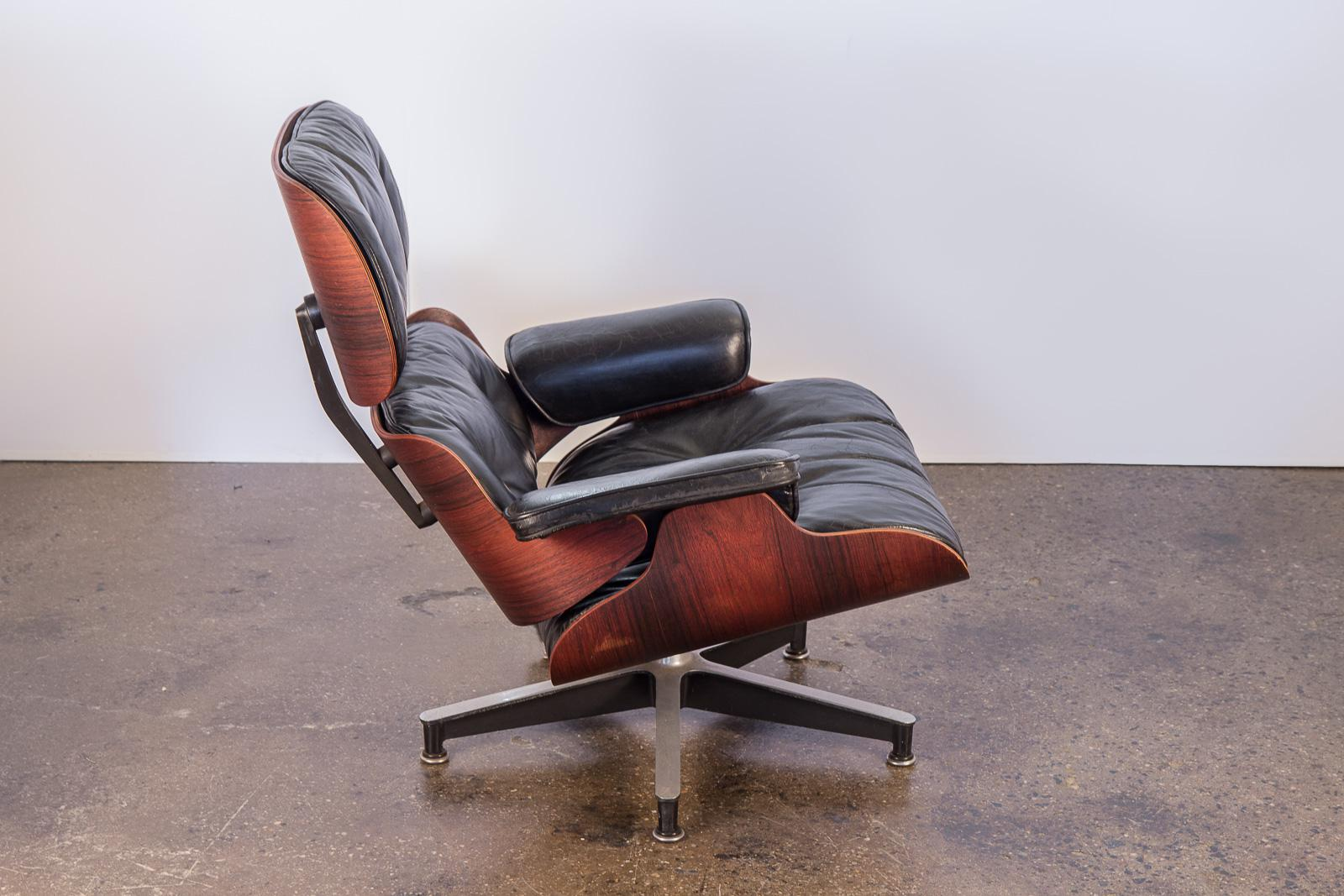 1960s Second Generation 1960s Eames 670 Lounge Chair For Herman Miller For  Sale   Image 5