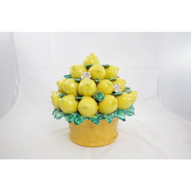 Italian Terracotta Lemon Topiary For Sale - Image 9 of 9