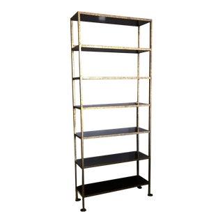 Oly Gold Metal Bookshelf