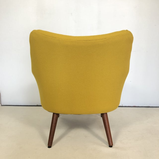 1960s Kurt Orstervig for Rolschau Mobelfabrik Lounge Chair For Sale - Image 5 of 12