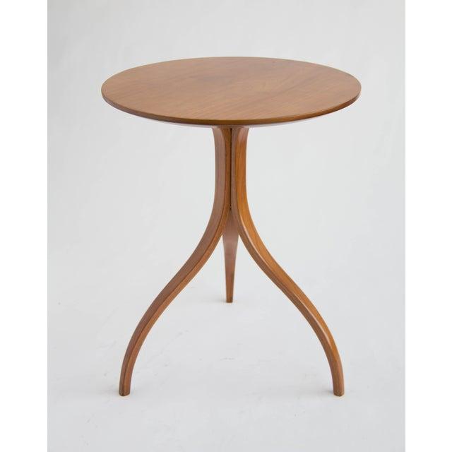 Spider Leg Walnut Side Table - Image 8 of 8