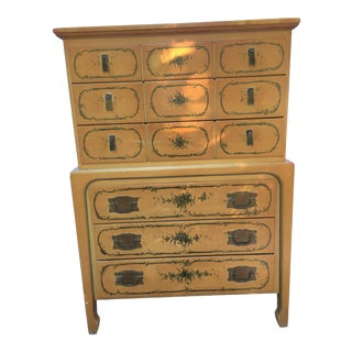 1960s Union National Mid-Century Chinoiserie Dresser For Sale