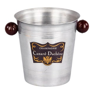 Vintage French Canard Duchene Champagne Bucket For Sale