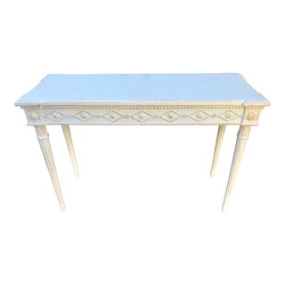Painted Italian Style Console Table by Ave