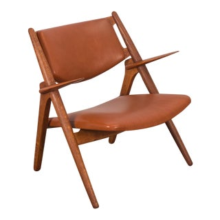 Hans J. Wegner Ch-28 Armchair for Carl Hansen & Son For Sale