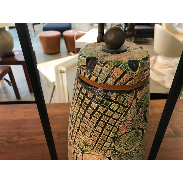 Tony Evans Ceramic Bell For Sale - Image 4 of 8