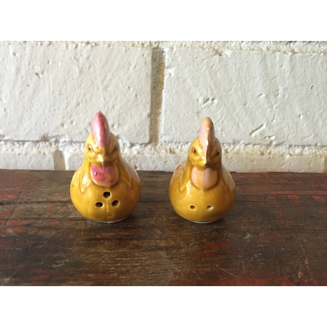 Yellow Chicken Salt & Pepper Shakers - A Pair - Image 3 of 7