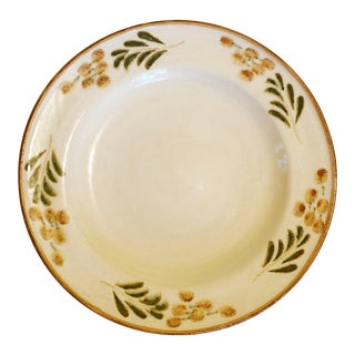 Williams Sonoma Hand Painted Italian Serving Platter For Sale