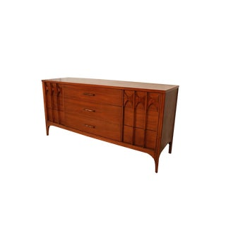 Kent Coffey Perspecta Triple Dresser Credenza Mid Century Modern For Sale