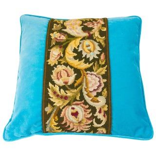 20th Century Baroque Tapestry Decorative Pillow For Sale